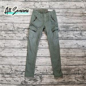 Rag & Bone Distressed Army Skinny Cargo Pants